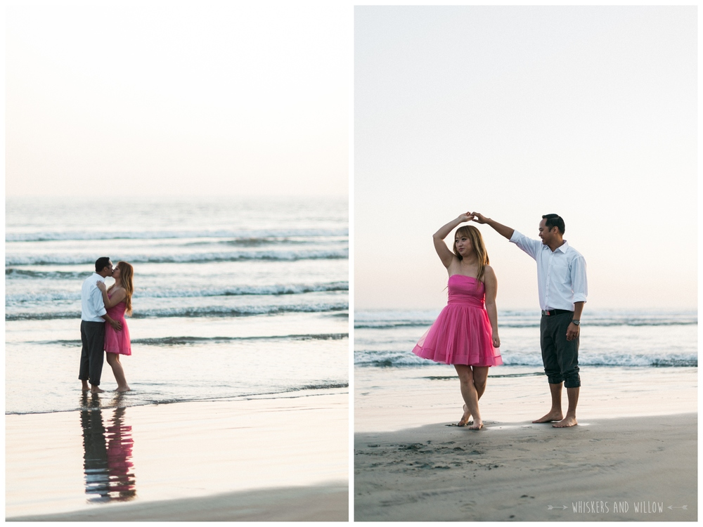 Coronado Beach Engagement 258  | Whiskers and Willow Photography