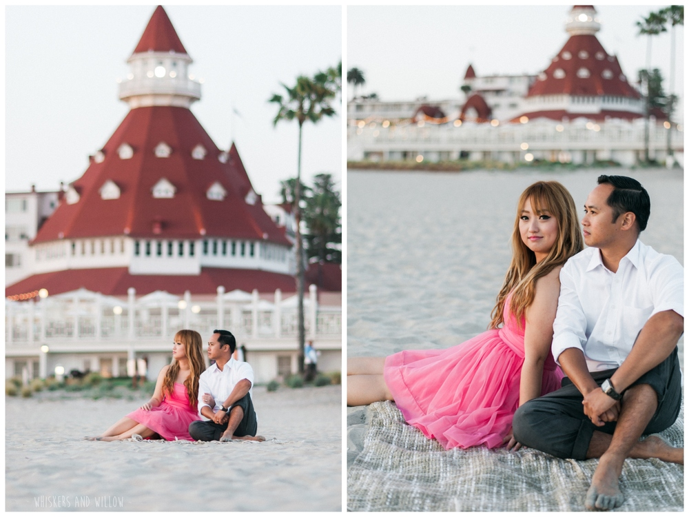 Coronado Beach Engagement 284  | Whiskers and Willow Photography