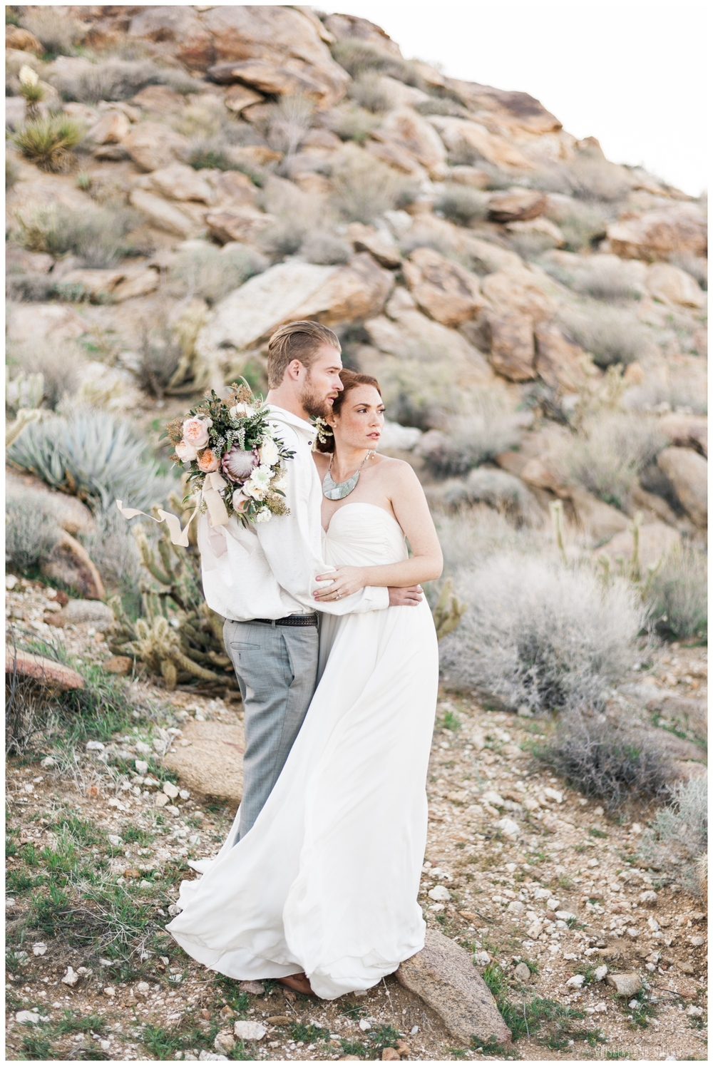 Pastel desert wedding | San Diego wedding | Whiskers and Willow Photography