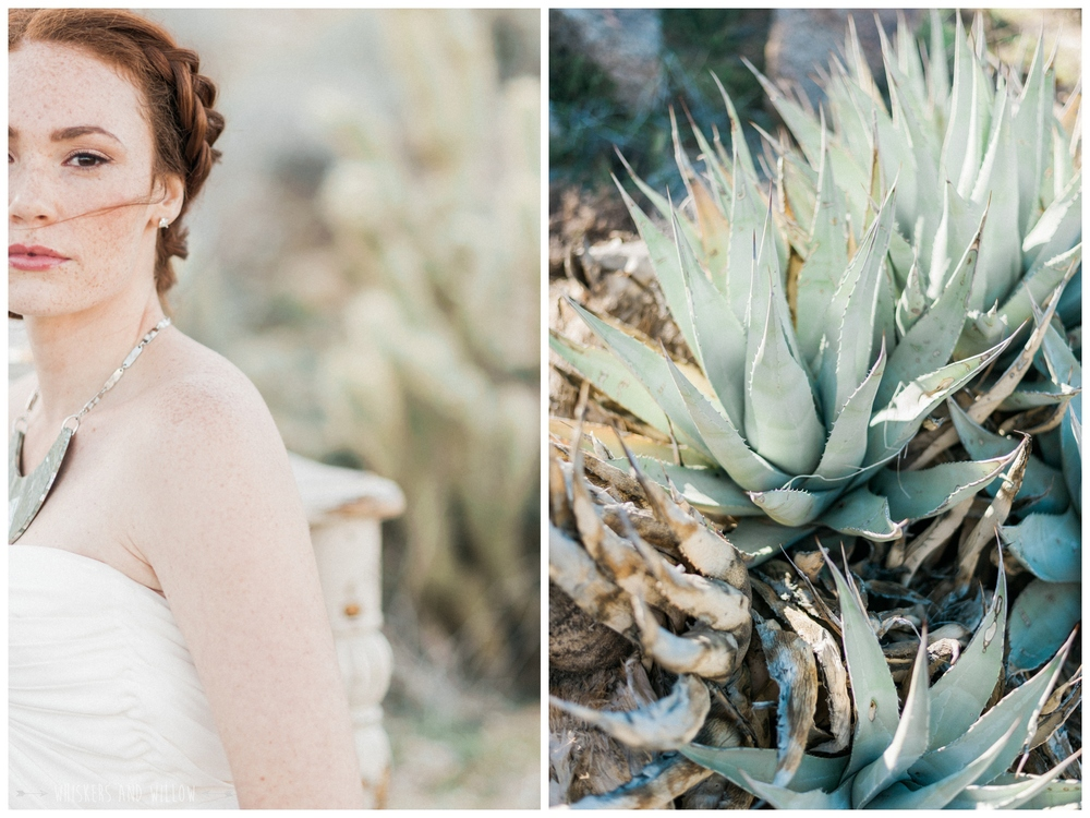 Pastel desert bridal | San Diego wedding | Whiskers and Willow Photography
