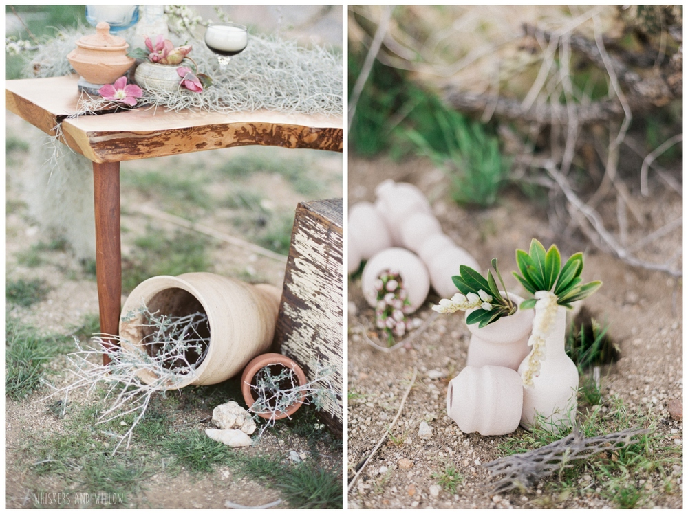 Pastel desert wedding | Whiskers and Willow Photography
