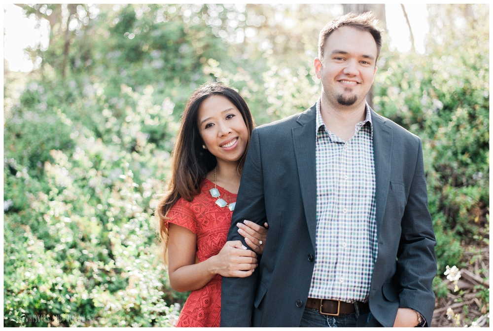 Presidio Park Engagement - Engagement Oufit - Whiskers and Willow Photography