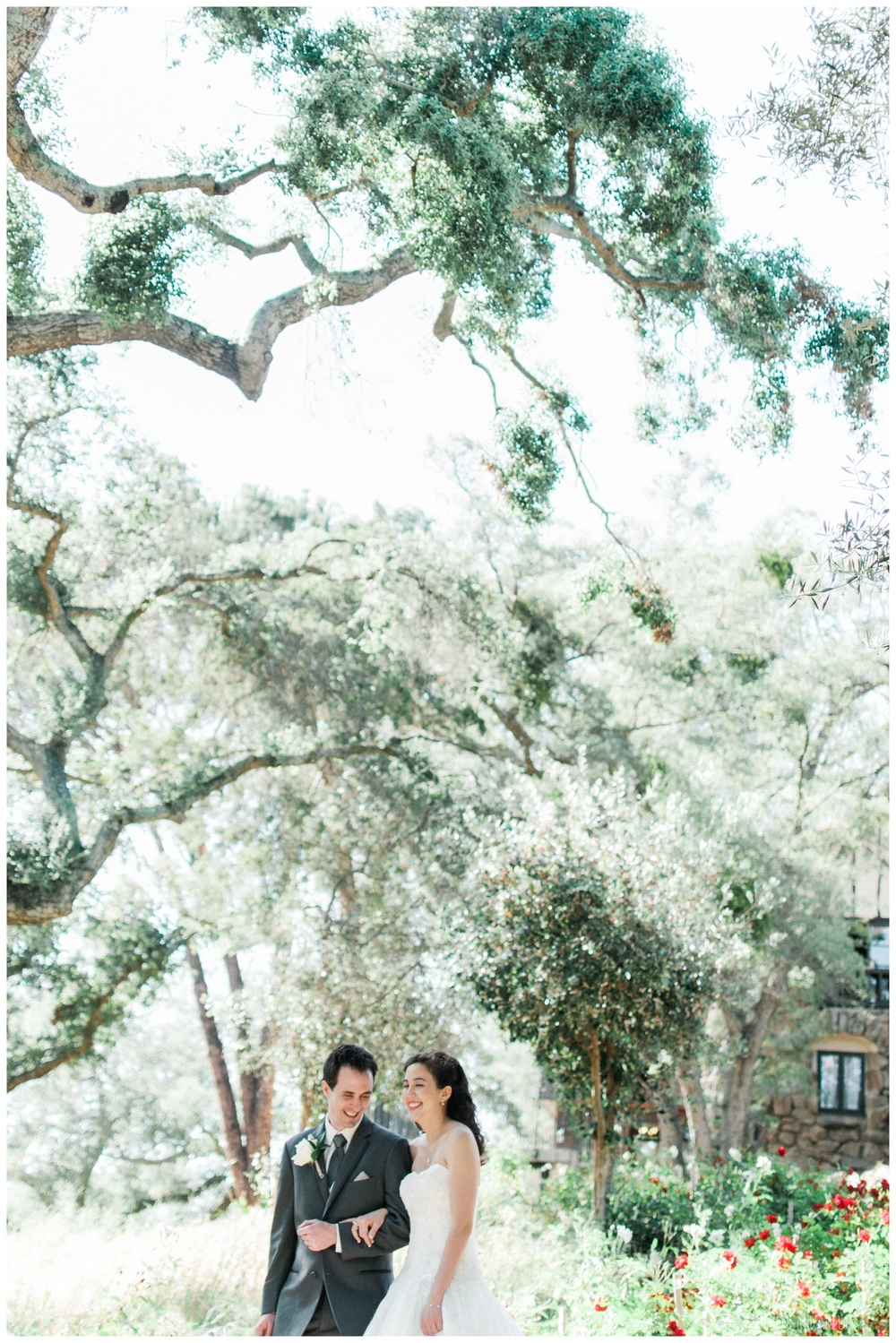 Mt Woodson Castle Wedding - Bride and Groom - San Diego Wedding Photographer - Whiskers and Willow Photography