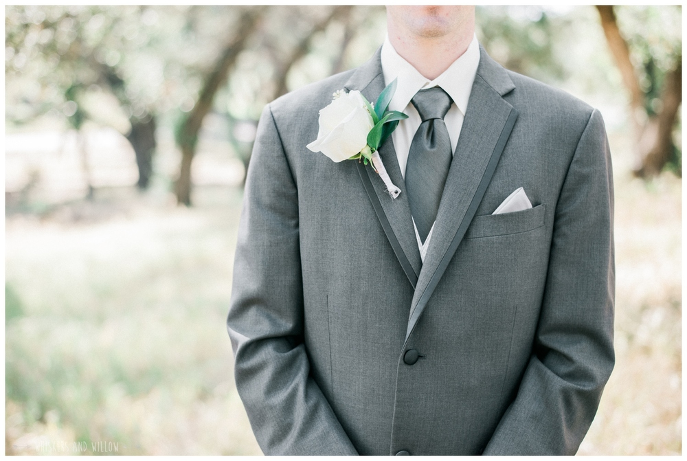 Mt Woodson Castle Wedding - Groom Inspiration - Boutonniere  - San Diego Wedding Photographer - Whiskers and Willow Photography
