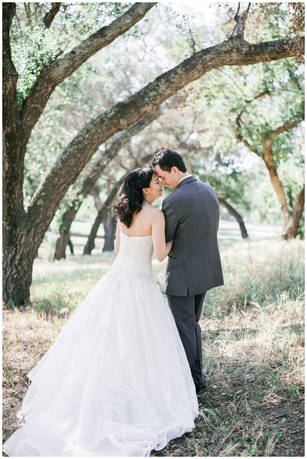 Mt Woodson Castle Wedding - Bride and Groom Portraits  - San Diego Wedding Photographer - Whiskers and Willow Photography