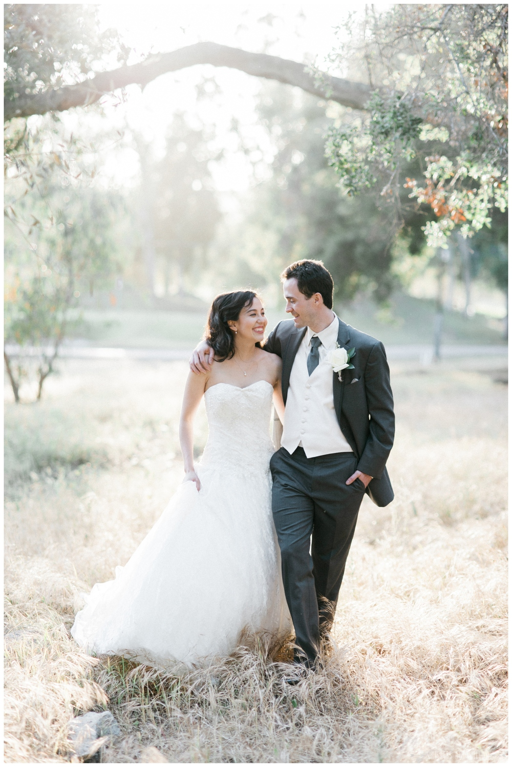 Mt Woodson Castle Wedding - Bride and Groom Portrait - San Diego Wedding Photographer - Whiskers and Willow Photography
