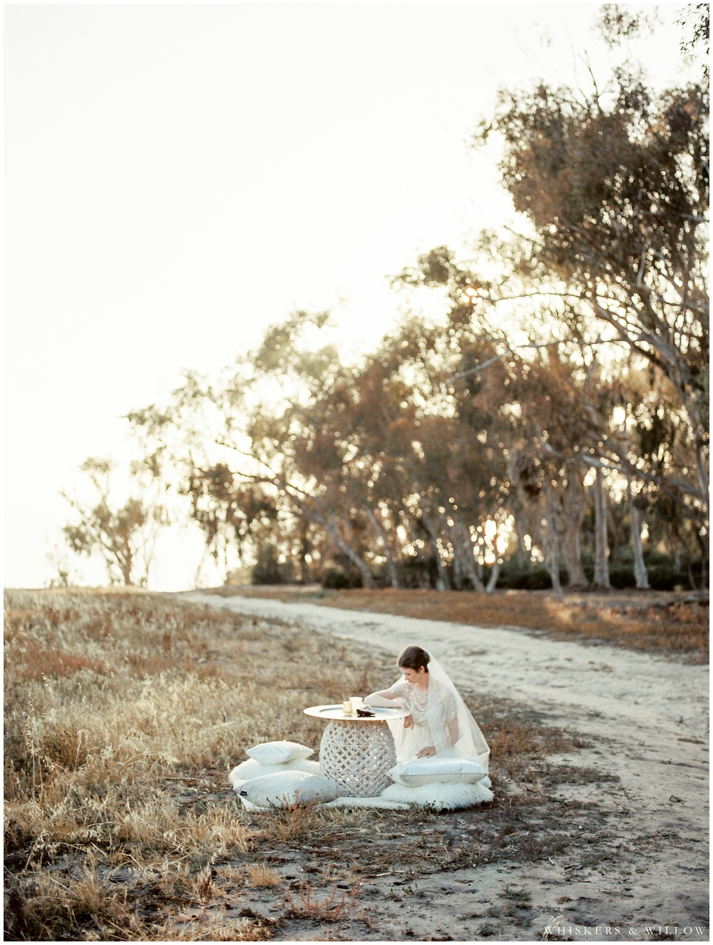 Bohemian Bridal Portrait - Jenny Packham gown - San Diego Wedding Photographer - Whiskers and Willow Photography