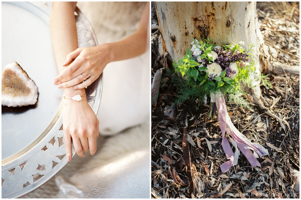Gabby Bella Jewelry - Lilac Bouquet by Little Fox Flower Shop  - San Diego Wedding Photographer - Whiskers and Willow Photography