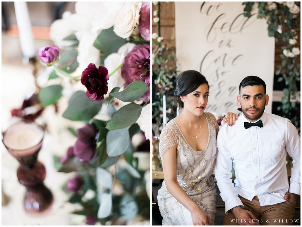 1920s Art Deco Wedding - Polite Provisions- San Diego - Whiskers and Willow Photography