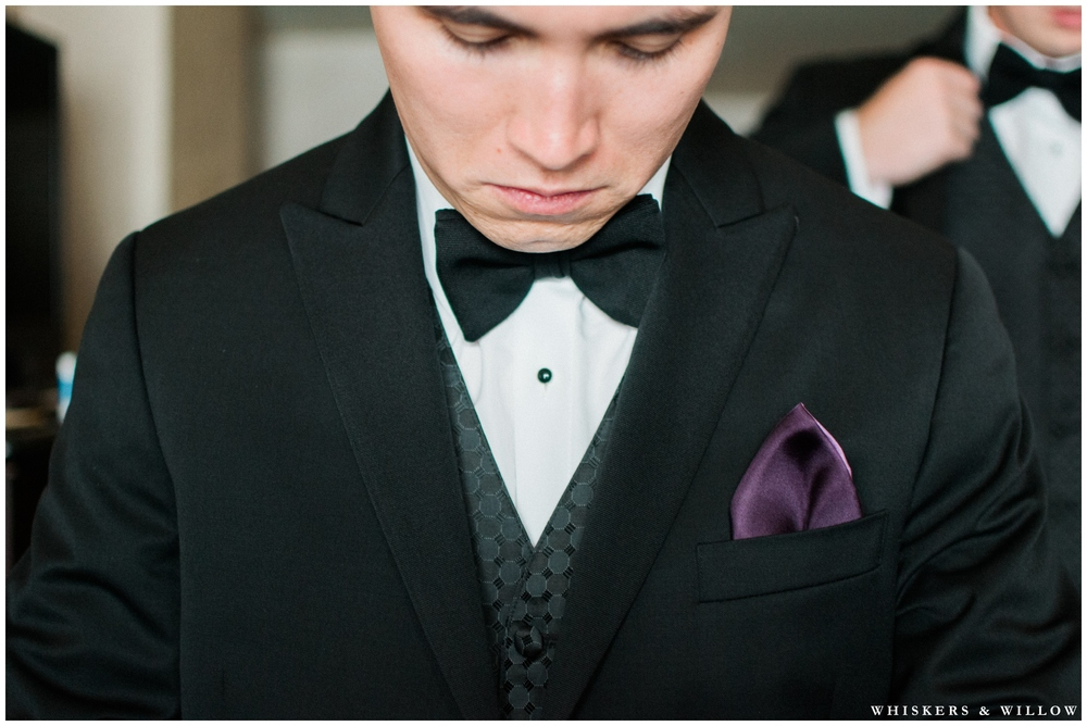 Groom getting ready - San Diego Wedding Photographer - Whiskers and Willow Photography