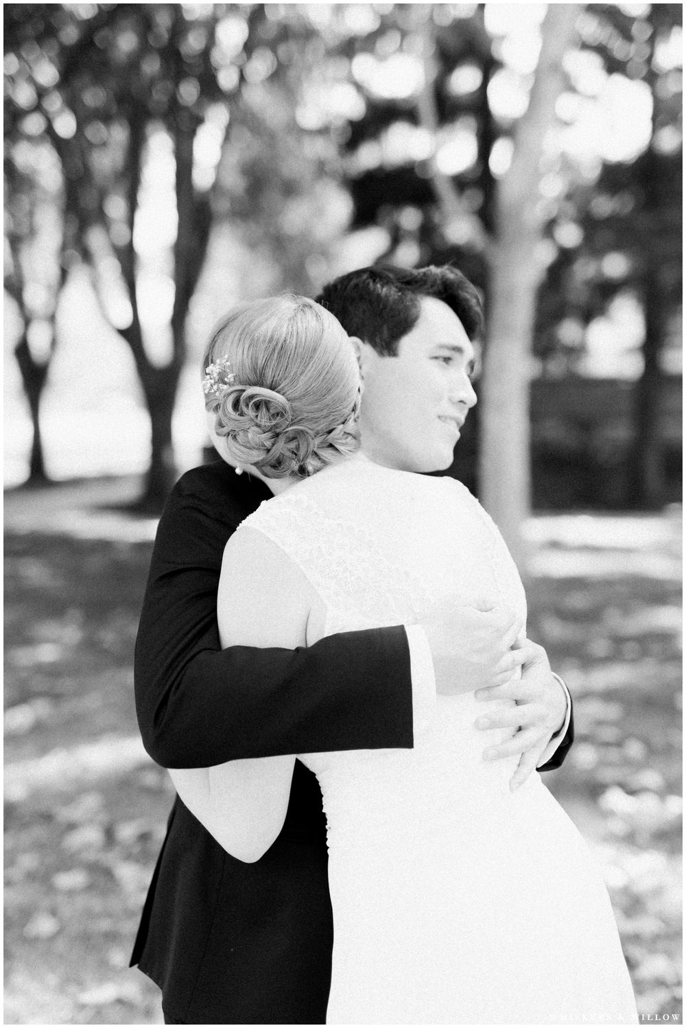 First Look photo - San Diego Wedding Photography - Whiskers and Willow Photography