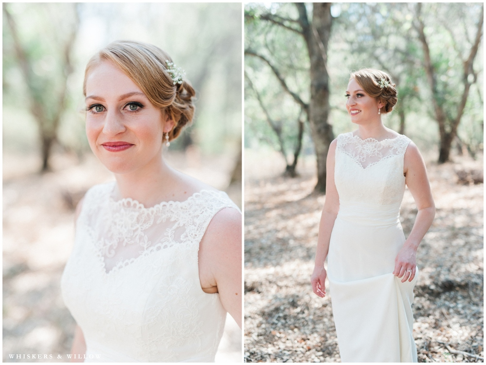 Classic Bride - Lace gown - San Diego Wedding Photography - Whiskers and Willow Photography