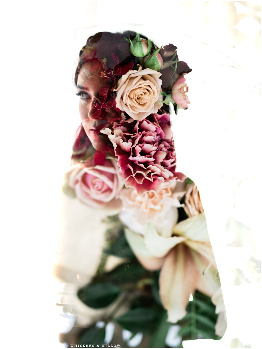 Romantic Double Exposure | San Diego Fine Art Wedding Photography | Whiskers and Willow Photography