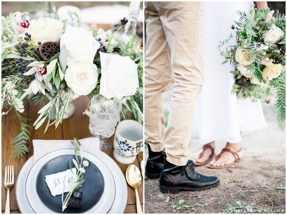 Kinfolk wedding | Rustic wedding | San Diego Fine Art Photographer | Whiskers and Willow Photography