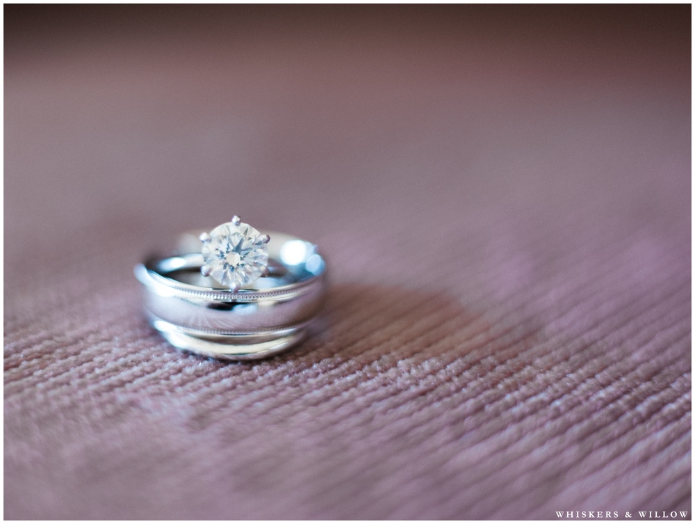 Solitaire diamond ring photo | Hilton Garden Inn Carlsbad wedding | San Diego Wedding Photographer | Whiskers & Willow Photography