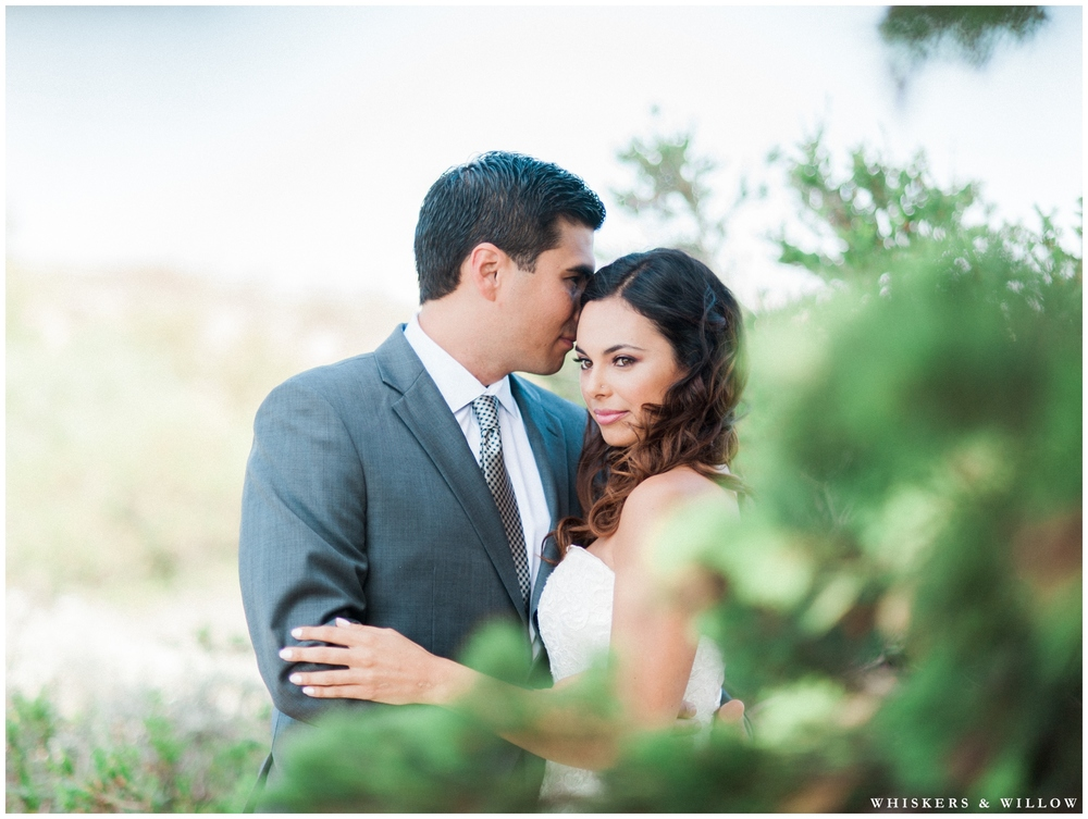 Bride and Groom photos | First look photos | Hilton Garden Inn Carlsbad wedding | San Diego Wedding Photographer | Whiskers & Willow Photography