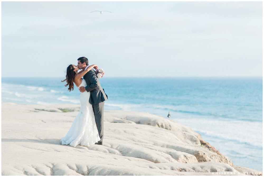 Seaside Wedding | Hilton Garden Inn Carlsbad wedding | San Diego Wedding Photographer | Whiskers & Willow Photography