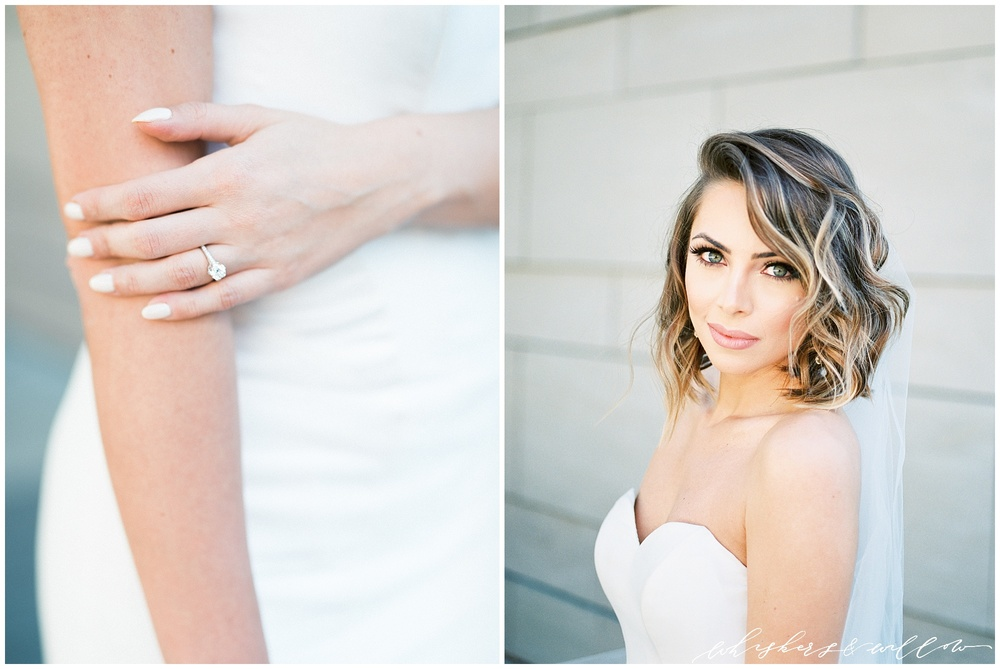 AT&T Center Wedding - LA Wedding - Bridal Portraits - Getting Ready - Whiskers and Willow Photography