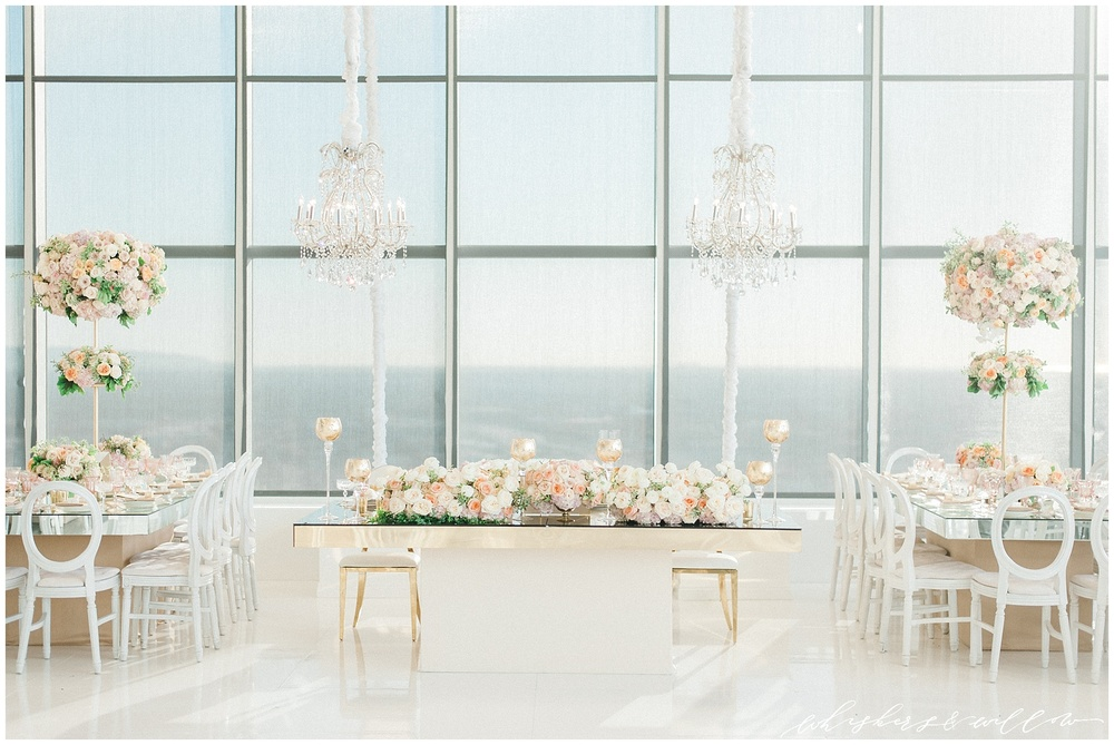 AT&T Center Wedding - LA Wedding - Blush Glam Wedding - Couture Wedding - Celios Design - Whiskers and Willow Photography
