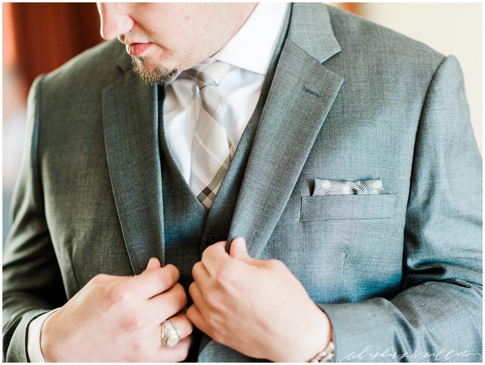 Temecula wedding - Groom getting ready - San Diego photographer - Whiskers and Willow Photography