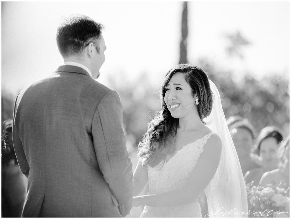 Mount Palomar Winery wedding - Temecula wedding - Ceremony - San Diego fine art photographer - Whiskers and Willow Photography