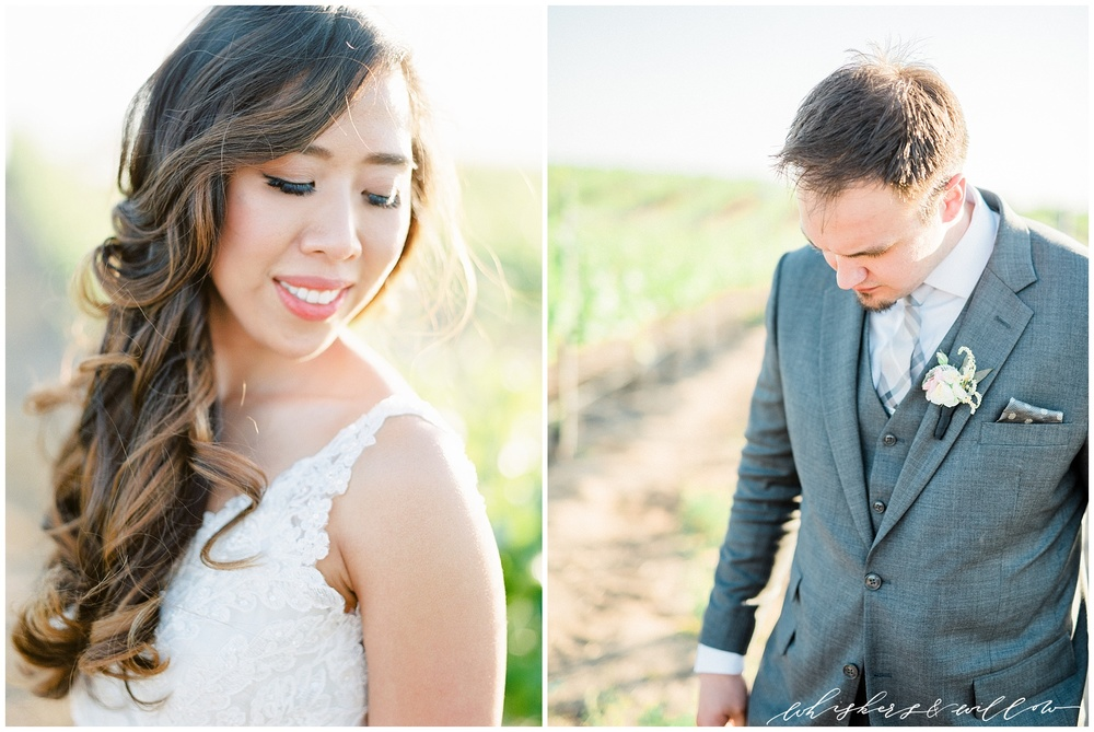 Mount Palomar Winery wedding - Temecula wedding - Winery wedding - Blush florals by Posh Peony - San Diego fine art photographer - Whiskers and Willow Photography