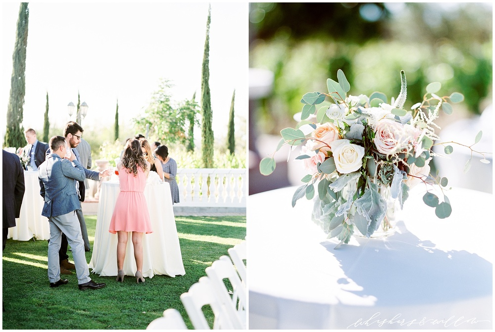 Mount Palomar Winery wedding - Temecula wedding - Reception - Winery wedding - Loung rentals by Jake Duke Studios - Classic Touch Events - Blush florals by Posh Peony - San Diego fine art photographer - Whiskers and Willow Photography