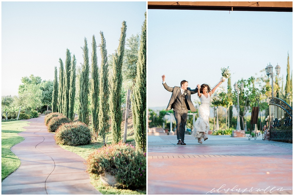 Mount Palomar Winery wedding - Temecula wedding - Reception - Winery wedding - Grand Entrance - San Diego fine art photographer - Whiskers and Willow Photography