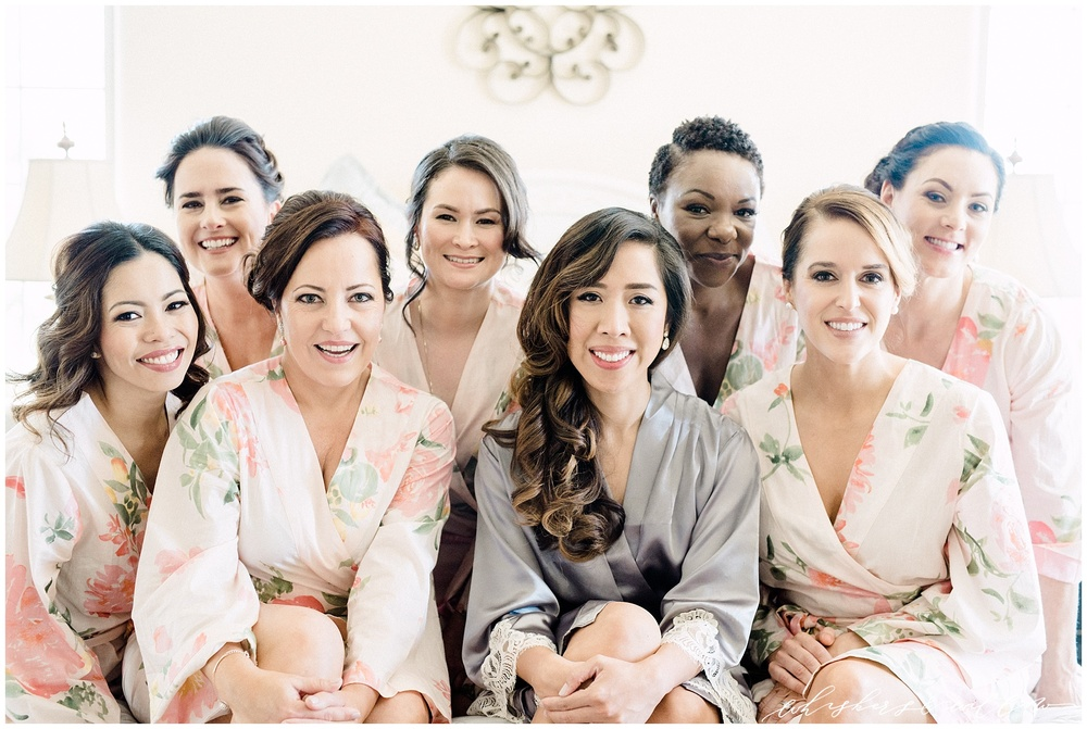 Bridesmaids getting ready - Temecula wedding - San diego photographer - Whiskers and Willow Photography