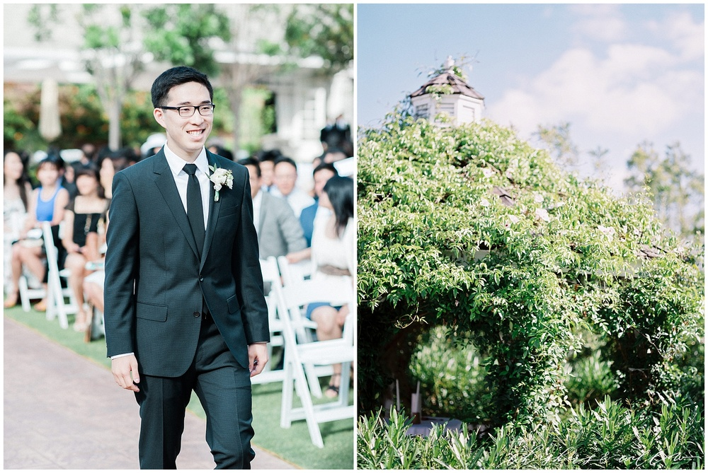 Gazebo garden wedding | Film photographer | San Diego fine art wedding photography | Carmel Mountain Ranch Country Club Wedding | Whiskers and Willow Photography