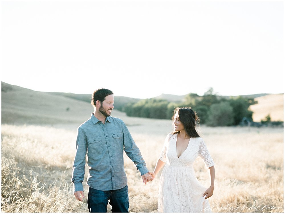 Cream Free People Dress | San Juan Capistrano Photographer | San Juan Capistrano Engagement Anniversary | Thomas F Riley Wilderness Park | California Fine Art Film Photographer | San Diego Photographer | Whiskers and Willow Photography