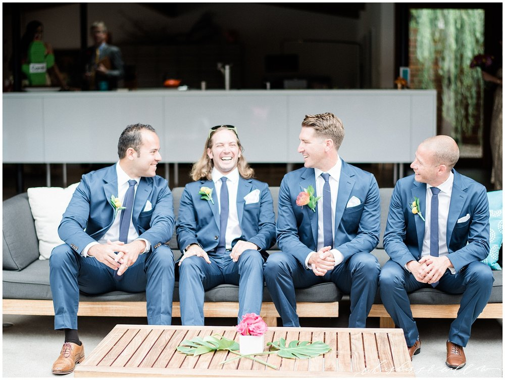 Blue Suit Groomsmen | La Jolla Wedding Photographer | San Diego Fine Art Wedding Photographer | Whiskers and Willow Photography