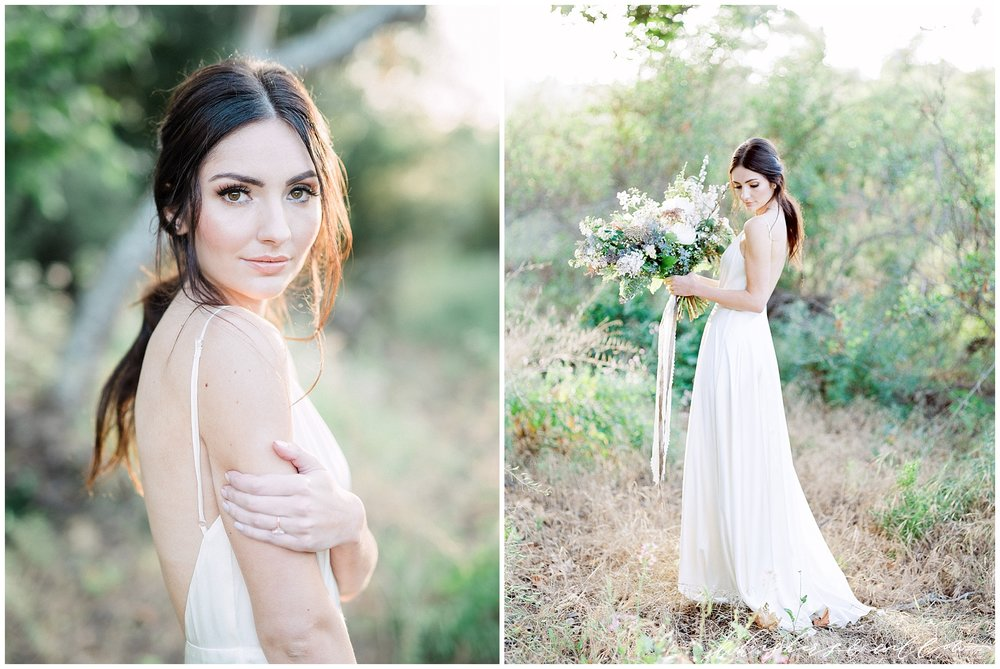 Garden wedding bridal inspiration | Modern garden wedding | Bouquet by Layered Vintage | San Diego Wedding Photographer | Type and Title | Whiskers and Willow Photography
