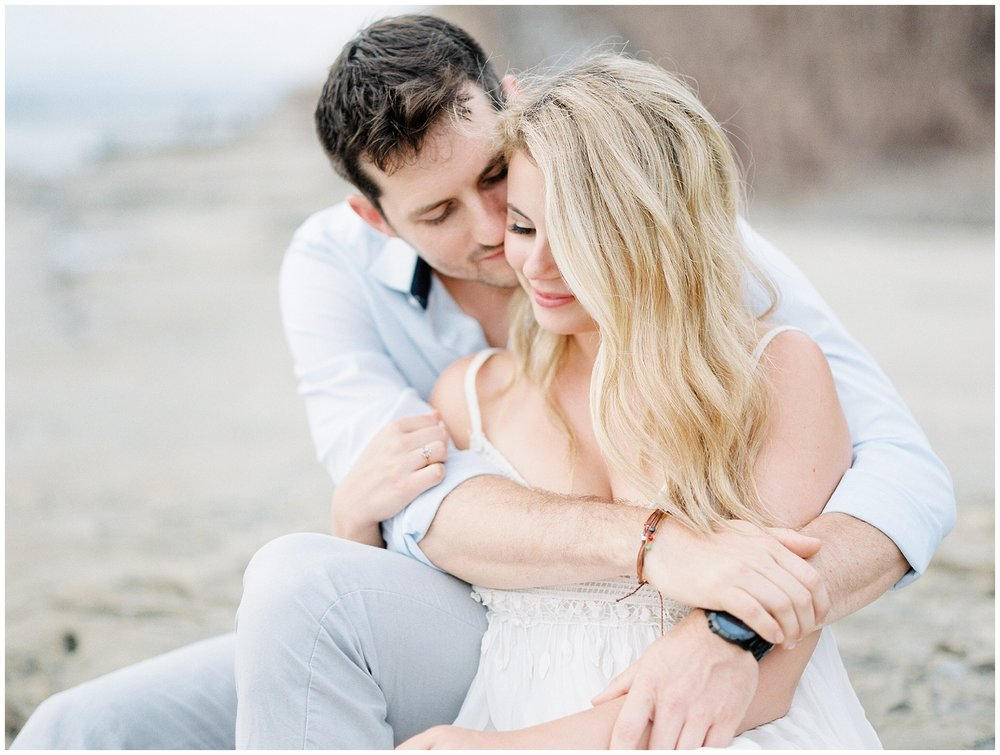 Sunset Cliffs Engagement Whiskers and Willow Photography