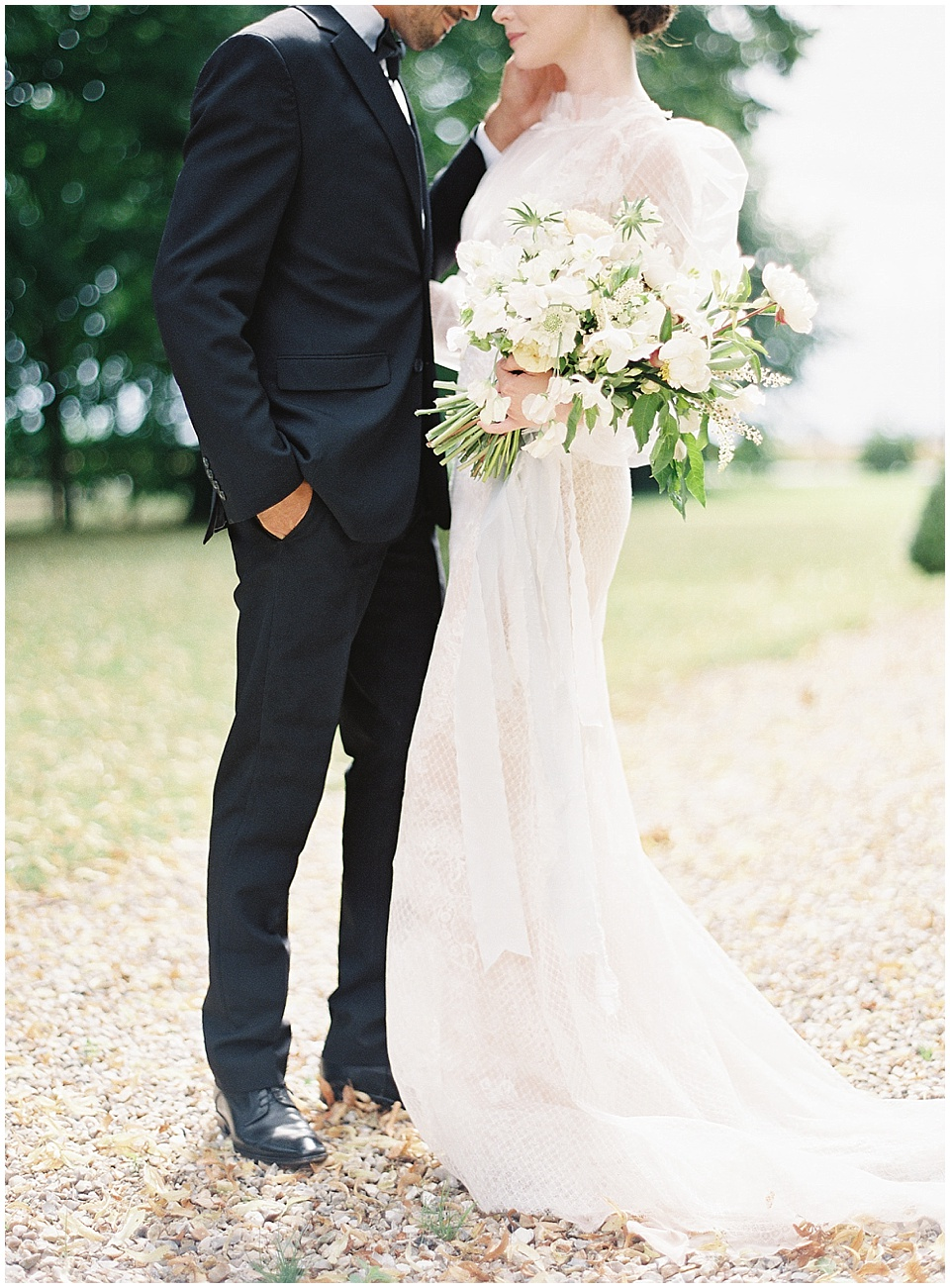 Bride and groom portraits | Joy Proctor Design | Yolan Cris wedding gown | Bows and Arrows florals | French Wedding Inspiration | France Wedding | Destination Film Photographer | Paris Wedding | Fine Art Film Photographer |  Chateau De Carsix | Whiskers and Willow Photography