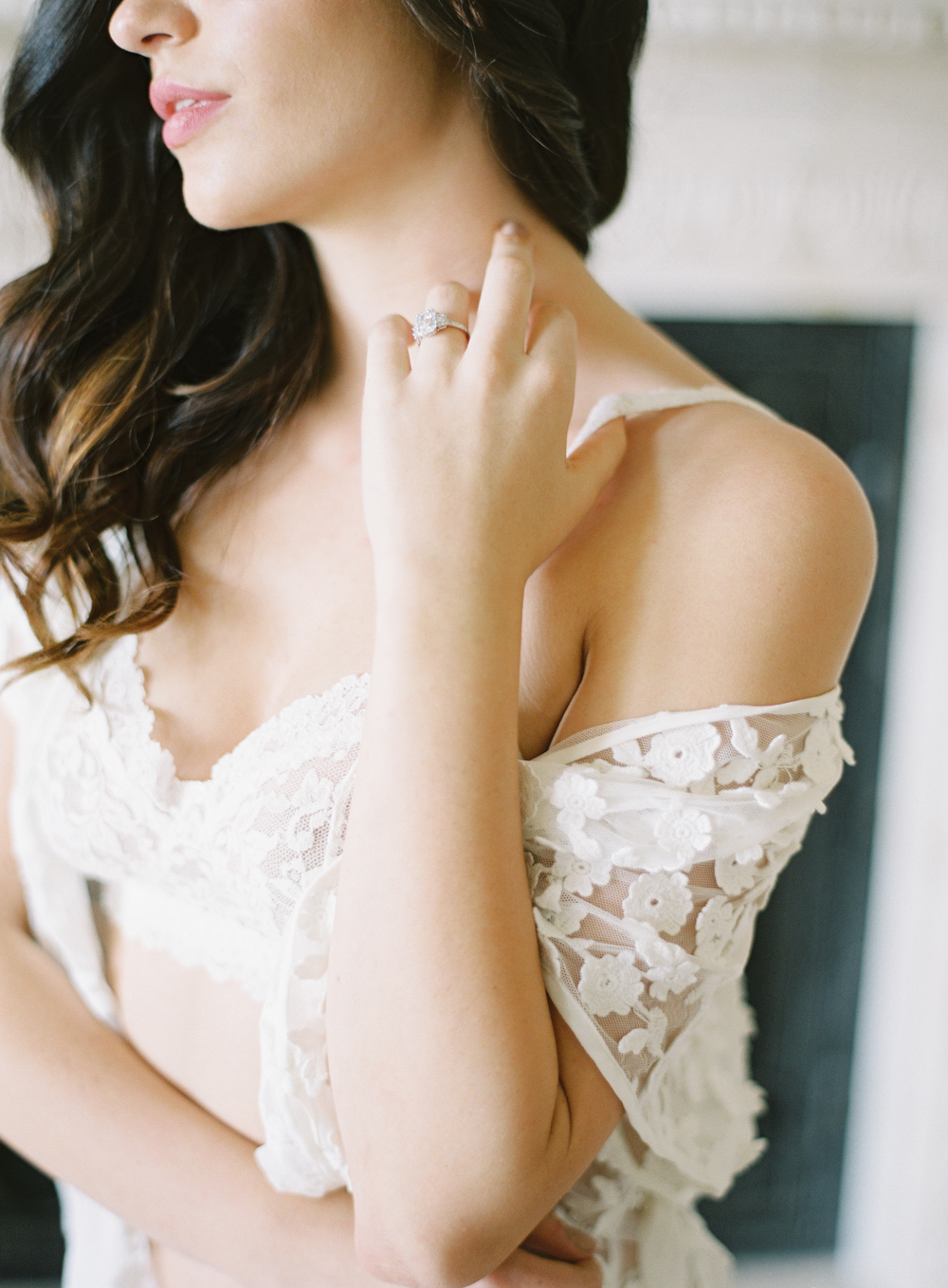 Bridal boudoir | neutral wedding | European Wedding Inspiration | French wedding | France wedding photographer | Southern California film photographer | San Diego wedding photographer | Whiskers and Willow Photography
