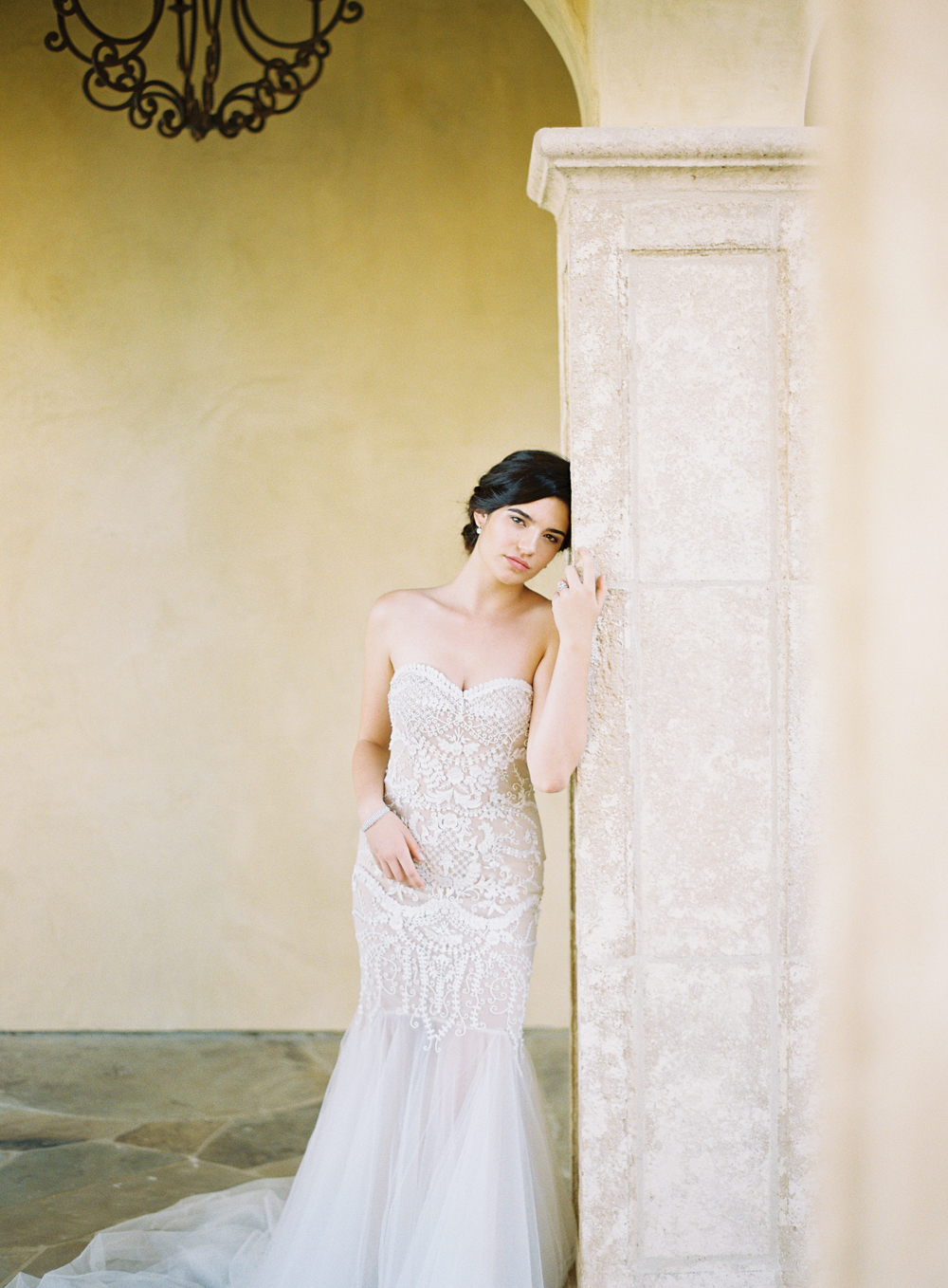 Sachin and Babi wedding gown | Mbride | Beauty by Stacey | Luxury wedding | Hidden Castle | Rancho Santa Fe | Estate Events with Venuelust | neutral wedding | European Wedding Inspiration | French wedding | France wedding photographer | Southern California film photographer | San Diego wedding photographer | Whiskers and Willow Photography