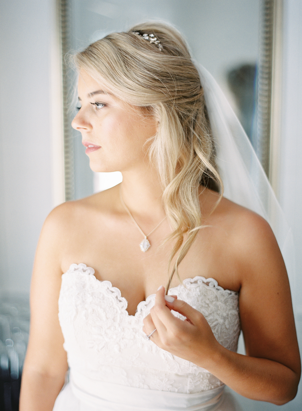 Bridal Suite | Bride Getting Ready | Mount Palomar Winery Wedding | Blush and Lavender | San Diego wedding photographer | Temecula wedding photographer | Southern California film photographer | Whiskers and Willow Photography