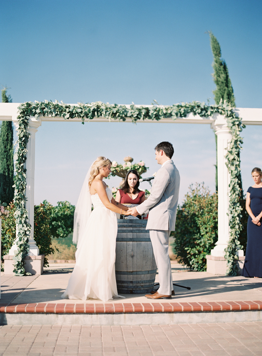 Sunny Blush and Lavender Wedding at Mount Palomar Winery - Allie and ...