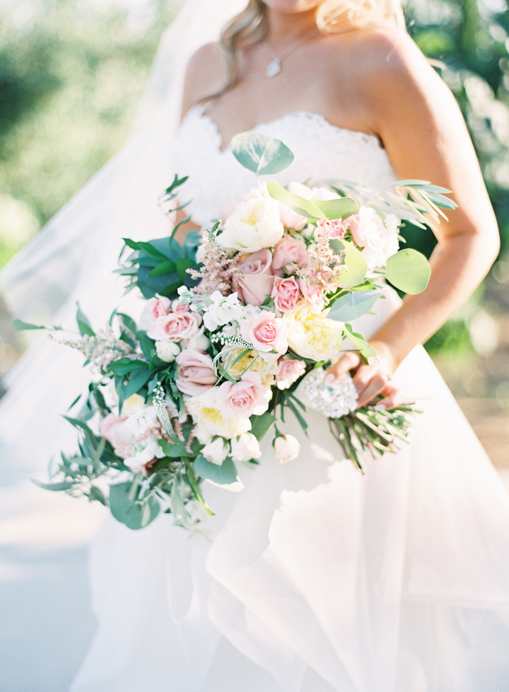 Posh Peony Bridal Bouquet | Mount Palomar Winery Wedding | Blush and Lavender | San Diego wedding photographer | Temecula wedding photographer | Southern California film photographer | Whiskers and Willow Photography