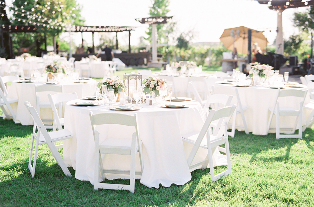 Garden reception | Posh Peony | Mount Palomar Winery Wedding | Blush and Lavender | San Diego wedding photographer | Temecula wedding photographer | Southern California film photographer | Whiskers and Willow Photography