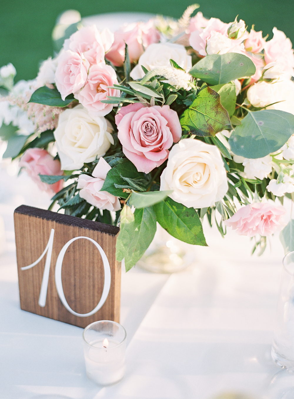 Posh Peony Centerpiece | Mount Palomar Winery Wedding | Blush and Lavender | San Diego wedding photographer | Temecula wedding photographer | Southern California film photographer | Whiskers and Willow Photography