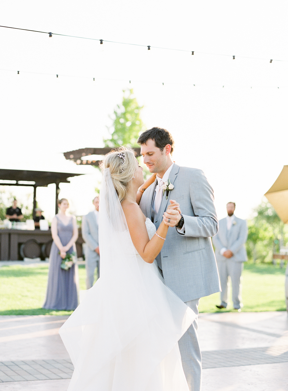 First Dance | Mount Palomar Winery Wedding | Blush and Lavender | San Diego wedding photographer | Temecula wedding photographer | Southern California film photographer | Whiskers and Willow Photography