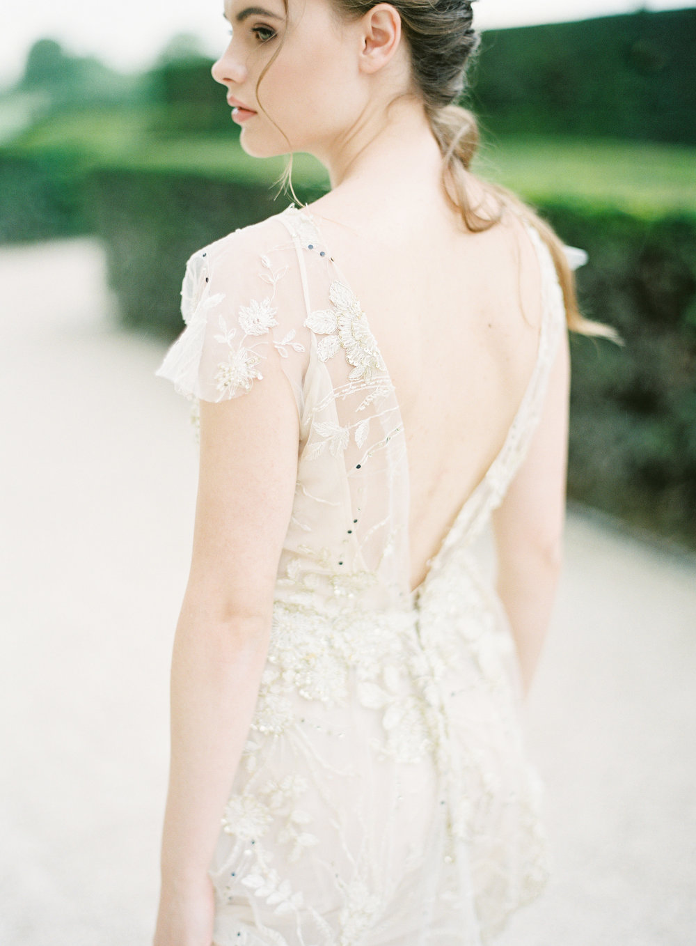 Paris Bride | Gold wedding gown | Ethereal Bride | Shop Gossamer | Bella Belle Shoes | Paris wedding photographer | Paris film photographer | France wedding photographer | France film photographer | Whiskers and Willow Photography.jpg