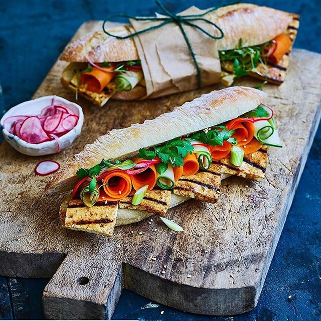 Happy Monday everybody! It's been a minute, but we're back, and sharing this delicious baguette from @avantgardevegan 🤤 ・・・ BADASS BAGUETTES🔥 link in bio for my recipe 👨🏻‍🍳 It's an exclusive recipe from my cookbook #VEGAN100  Make sure you check it out. Thanks @gazoakley 👨🏻‍🍳 • • Cooked & styled by me shot by 📸- @simonsmithphotography • •  #vegan #vegans #vegano #veganfood #vegeansofinstagram #veganlife #vegansfoodshare #vegganlifestyle #veganism #veganfoodporn #foodporn #foodie #food #cardiffvegans #welshvegans  #cardiff #wales #vegetarian #avocado #vegancake #avocado #vegancommunity #bestofvegan #letscookvegan #veganguy #avantgardevegan #vegan100
