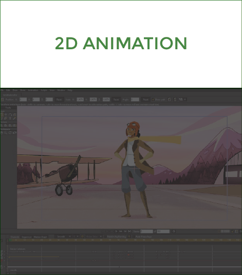 Bringing your brand, product or service to life with 2D, 3D and claymotion animation.