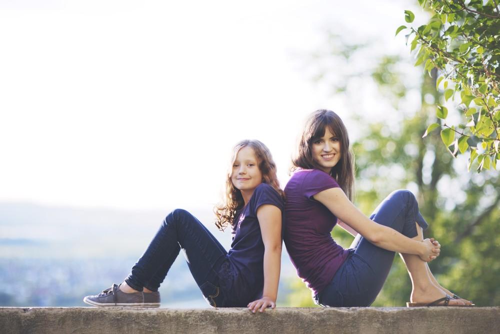 Familienfotos und Geschwisterfotos in Landshut und Erding