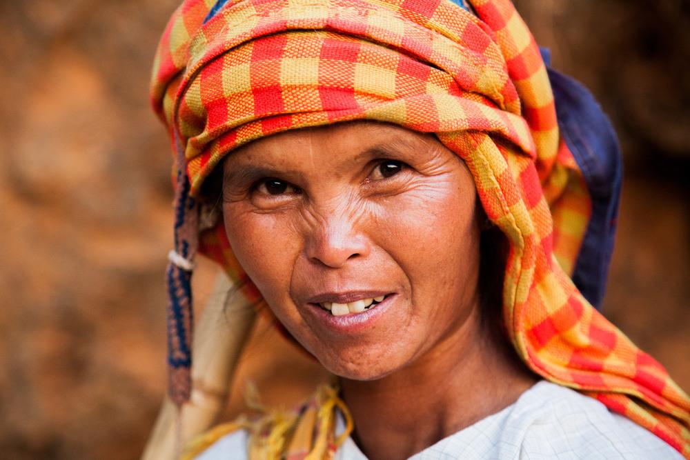Pa'O ethnic woman