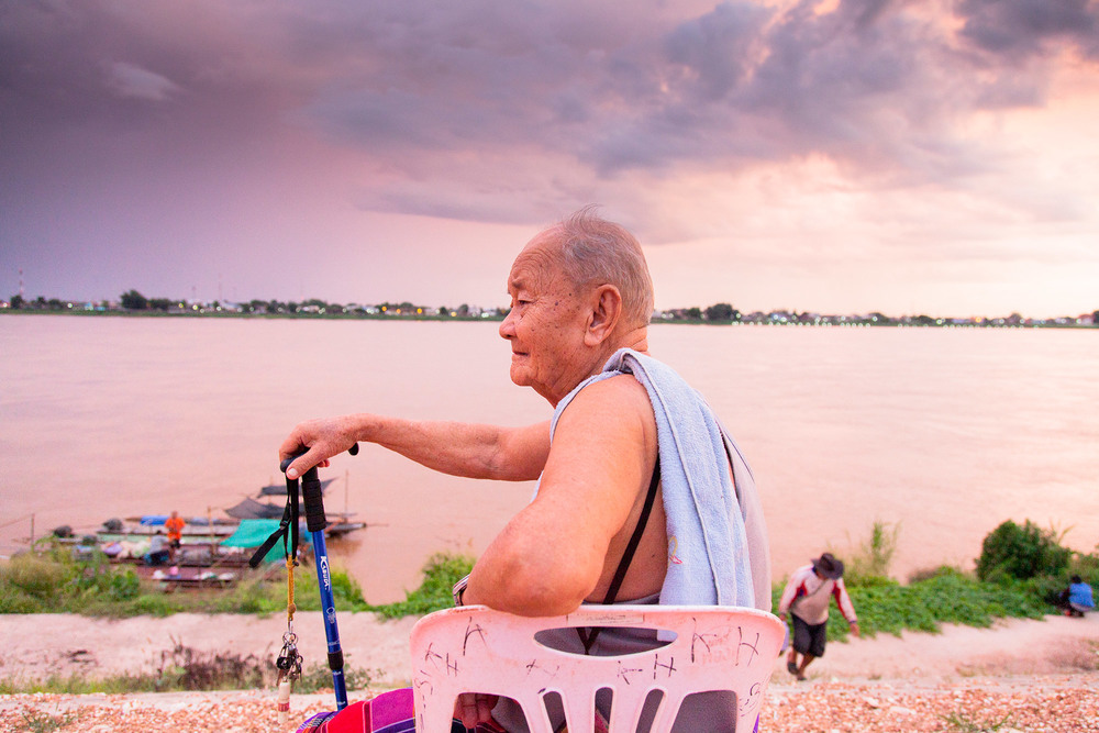 Man on the Mekong