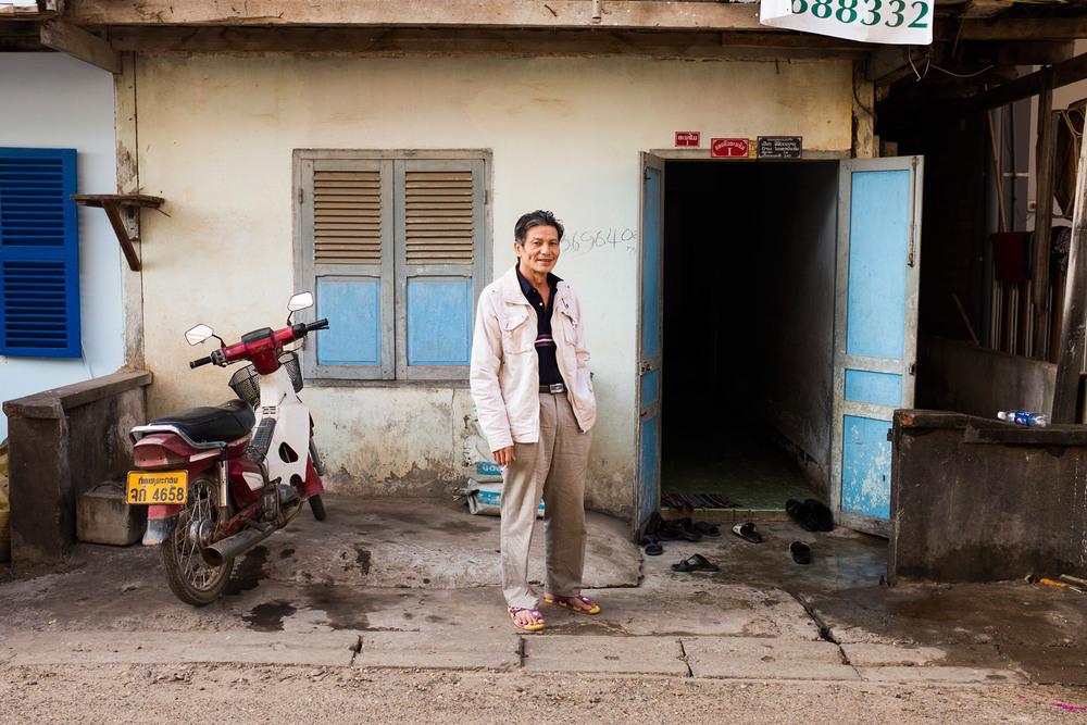 Portrait in Vientiane